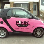 Pink Skips Driving Smart in Southampton